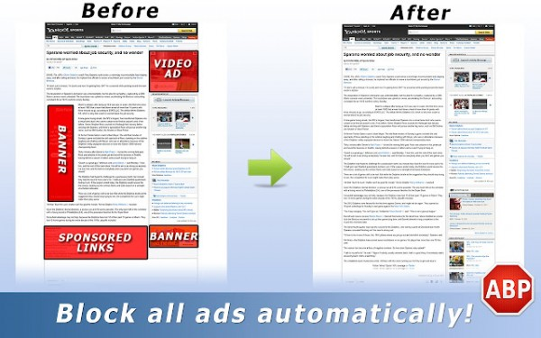 adblock chrome extension