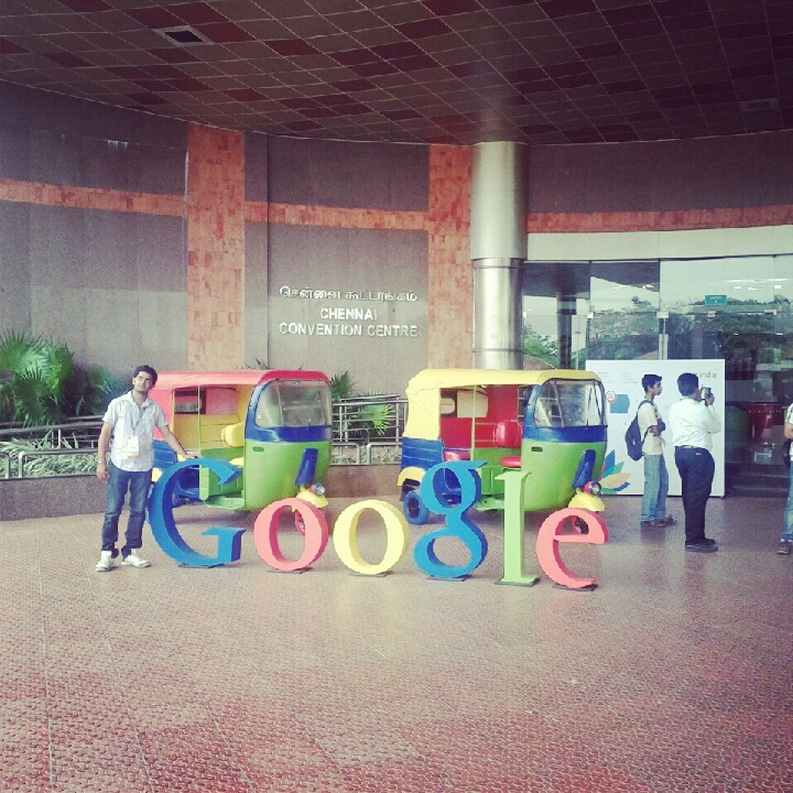 Google G|India 2012 Chennai