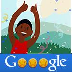 Google Doodle Game hurdles