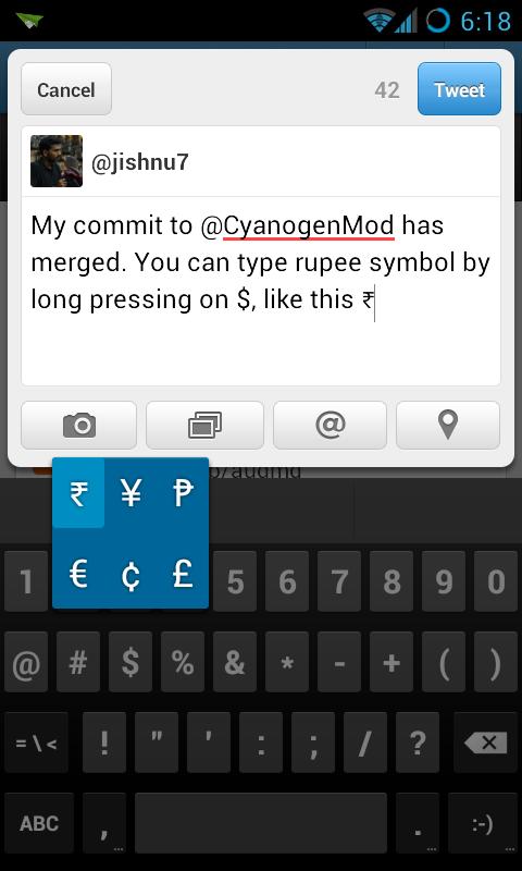 CyanogenMod contribution!